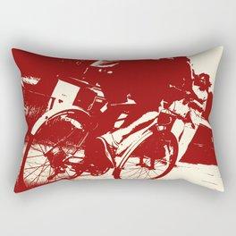Cycle Path Rectangular Pillow