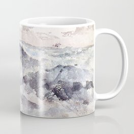 Arrangement In Blue And Silver The Great Sea By James Mcneill Whistler | Reproduction Coffee Mug