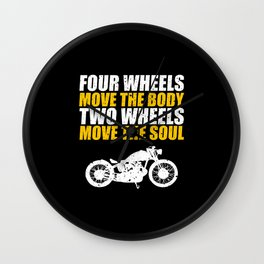 For Bikers Wall Clock