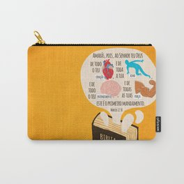 Marcos 12:30 Carry-All Pouch