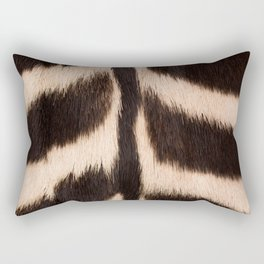 Zebra - zebra stripes -zebra skin - genuine - beautiful - #society6 #buyart Rectangular Pillow