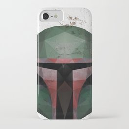 Boba Fett Low Poly iPhone Case