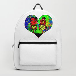 Love Birds in Style Backpack