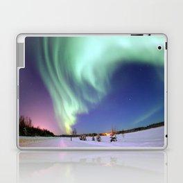 Northern Lights of Alaska Photograph Laptop & iPad Skin