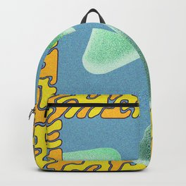 wave particle bounce Backpack