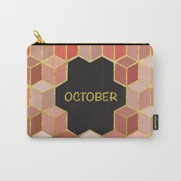 Cubes Of October Carry-All Pouch
