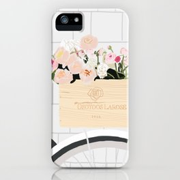 basket of blooms iPhone Case