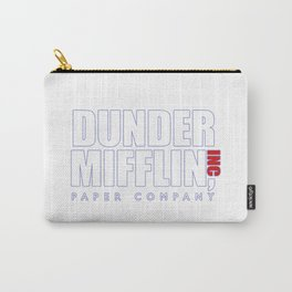 Dunder Mifflin The Office Logo,white Carry-All Pouch