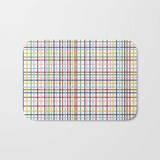 Rainbow Weave Bath Mat