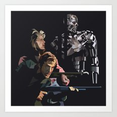 Targeted for Termination (The Terminator) Art Print