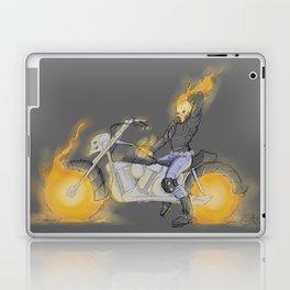 Pin-Up Ghost Rider Laptop & iPad Skin