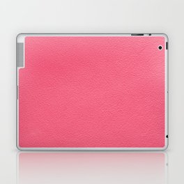 Pink leather texture Laptop & iPad Skin