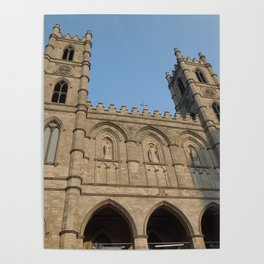 L'Église de Notre Dame de Montréal Poster