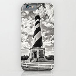 Sepia - Cape Hatteras Lighthouse, Outer Banks, NC iPhone Case