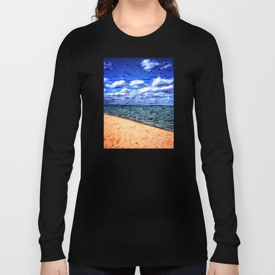 Shores of Lake Superior Long Sleeve T-shirt