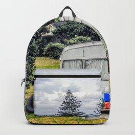 abonded camper in new zealand Backpack