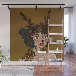 Bernadette Wall Mural