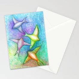 Skydivers Stationery Cards