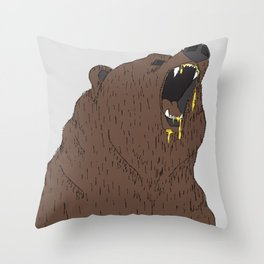Give me my honey Throw Pillow