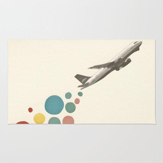 Leaving on a Jet Plane Rug
