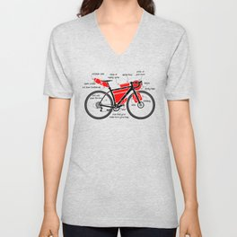 Bikepacking Unisex V-Neck