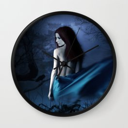 Charlotte Wessels Delain Fantasy Artwork Wall Clock