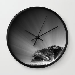 Something is Coming Wall Clock