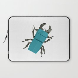 Origami Stag Beetle Laptop Sleeve