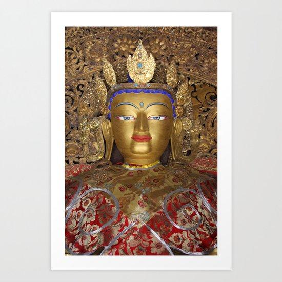 The Maitreya Buddha Art Print