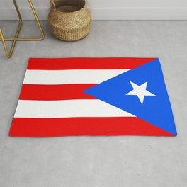 Puerto Rico Flag - Boricua Pride Rug