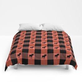 MOOSE CHECK Comforters