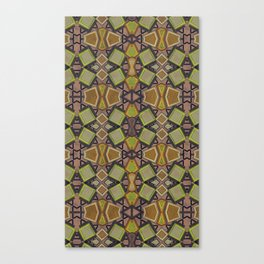 Shaman plaid Canvas Print
