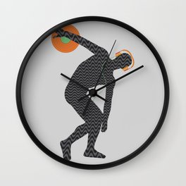 Vinylbolus Wall Clock