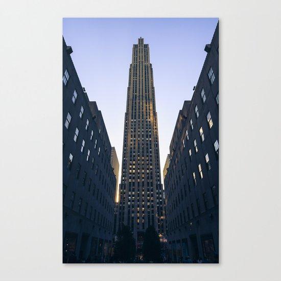 Rockefeller Canvas Print