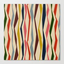 Bloomsbury Stripe Canvas Print