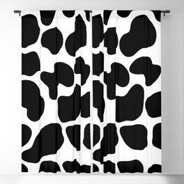 Cow Print Blackout Curtain