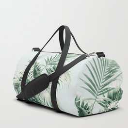 Palm Leaf Vibes #1 #tropical #decor #art #society6 Duffle Bag