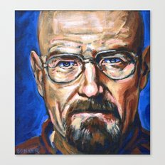 Walter White Breaking Bad Canvas Print