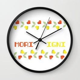 Fuck Off Die In Fire Sarcastic and Funny Gift Wall Clock