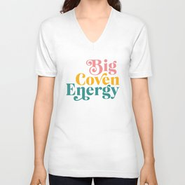 Big Coven Energy Unisex V-Neck