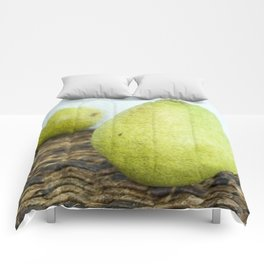 One Pair, Two Pears Comforters