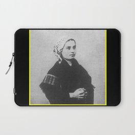 Billard Perrin - Portrait of Bernadette Soubirous Laptop Sleeve