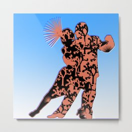 Joshua Tree Dancers by CREYES Metal Print