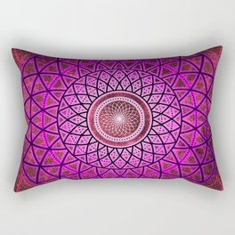 Divine Feminine Radiance Rectangular Pillow