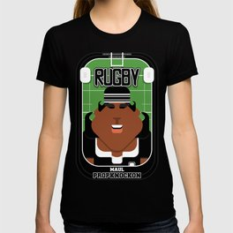 Rugby Black - Maul Propknockon - Aretha version T-shirt