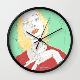 Clarice Lispector Wall Clock
