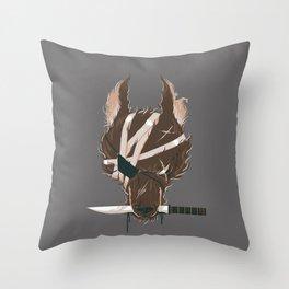 Dogfight Throw Pillow