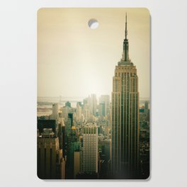 New York City - Empire State Building Cutting Board