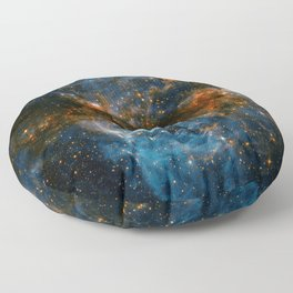 Galaxy Storm Floor Pillow