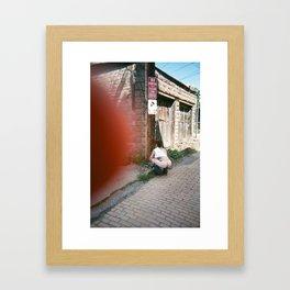 Runaway Hotel Issue .1 Cover photo Framed Art Print